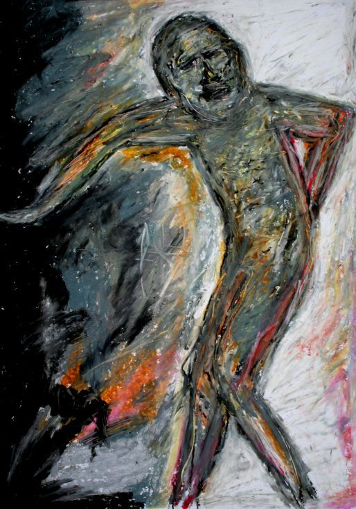 Buy Visitor, Pastel drawing by Lopéz García on Artfinder. Discover thousands of other original paintings, prints, sculptures and photography from independent artists.  Dramatic strokes help García express emotion and add a feeling of movement to his works.  It is an expressive and explosive drawing.  Oil pastels on paper (29,5 x 42 cm)