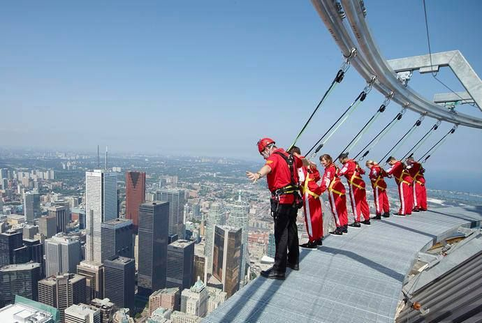 Wonga Q&A: Would you do the CN Tower edge walk?