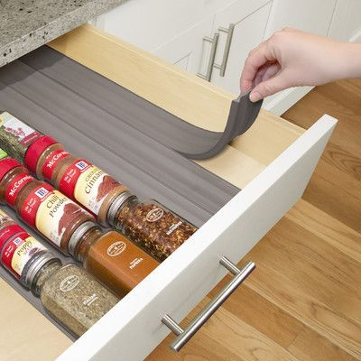 Ideal YouCopia SpiceLiner In Drawer Spice Organizer