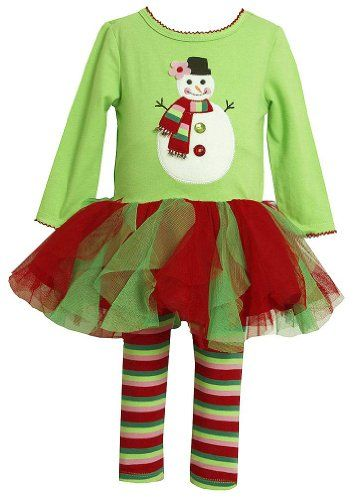 Bonnie Jean Christmas Outfit for Girls