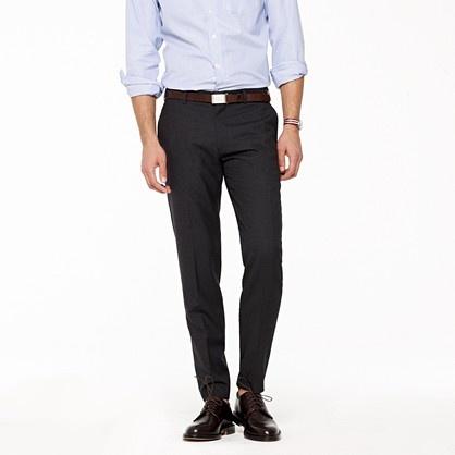 J B Ludlow Crew Ludlow slim suit pant in Italian Wool - $225 | Style ...
