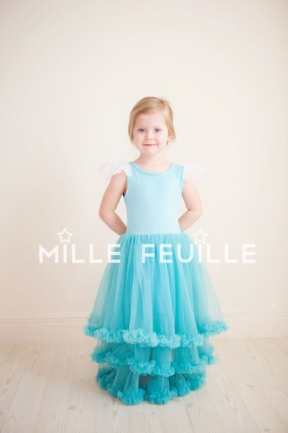 Frozen Princess Elsa dress pettiskirt by MilleFeuilleBoutique