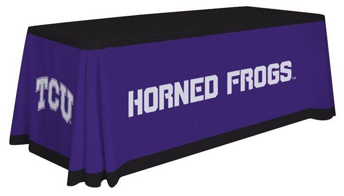 TCU Horned Frogs Table Throw - Design A. Visit SportsFansPlus.com for details.