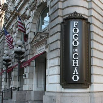 Fogo de Chao  1101 Pennsylvania Ave., Washington, DC 20004  T: (202) 347.4668    This is a Brazilian steakhouse.