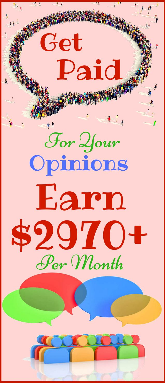 Make money online in 2018. The best way to earn passive income online from home by sharing your opinion. Work from home and earn $2970 per month with genuine methods. Click the pin to see how >>>