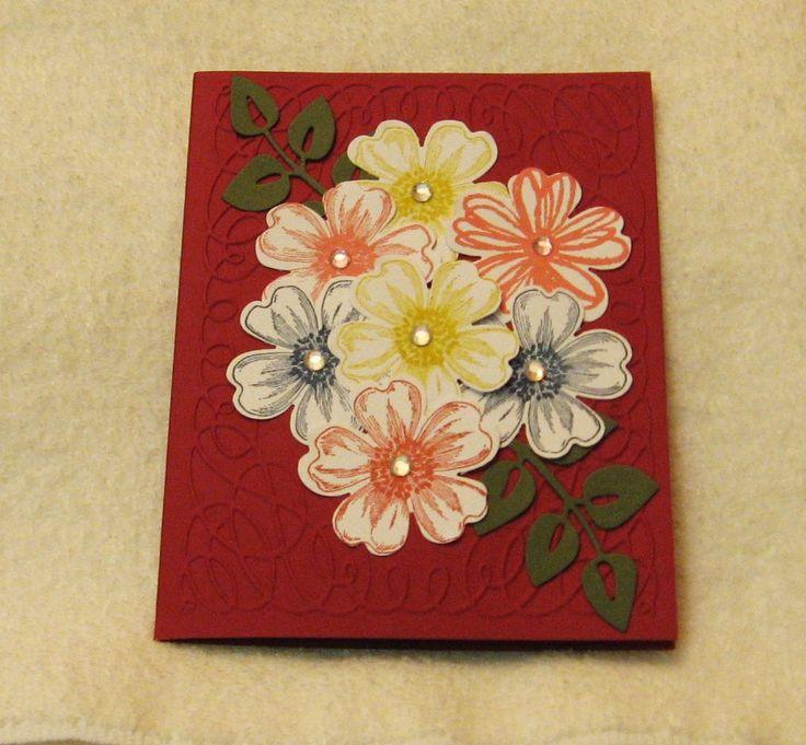 Stampin Up! Flower Shop stamp set & punch