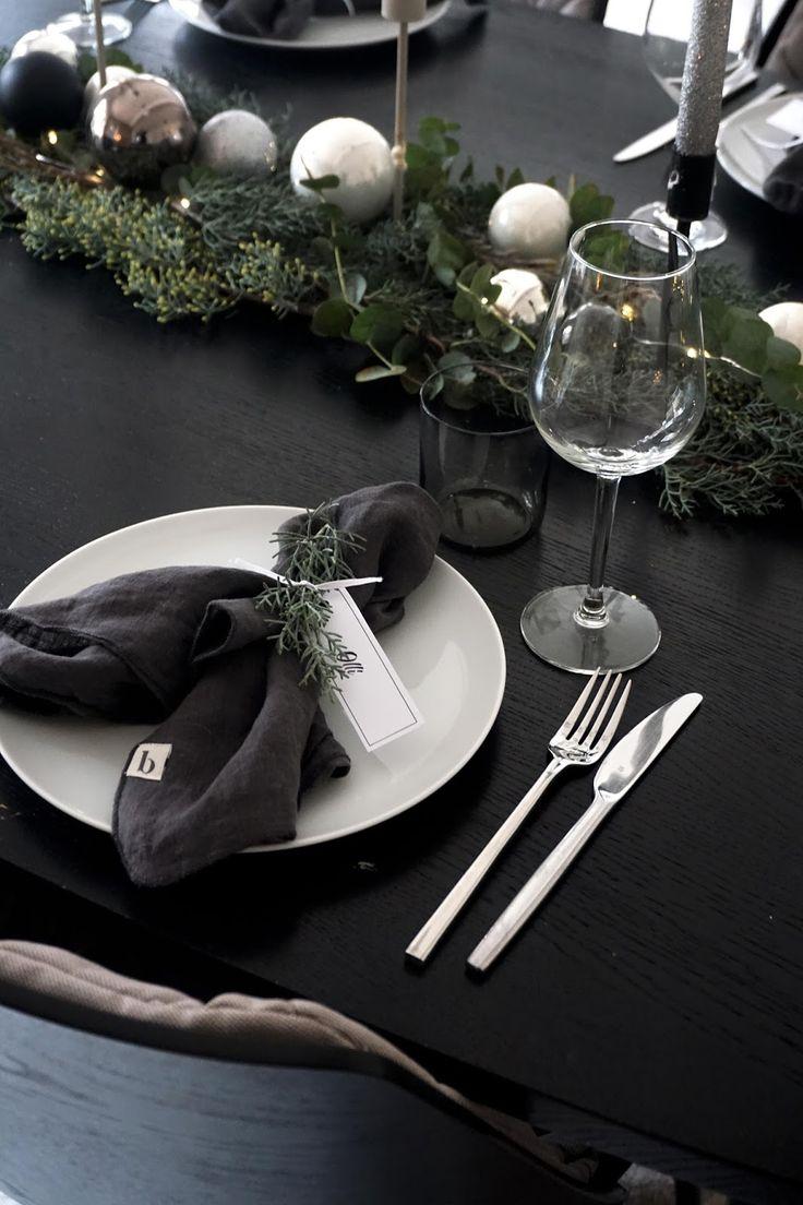 christmas decoration, Weihnachten, Advent dekorieren, Weihnachtsdeko schwarz weiß, Weihnachtsdeko simple