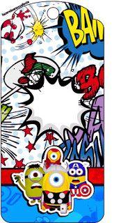 Minions Superheroes: Free Party Printable.