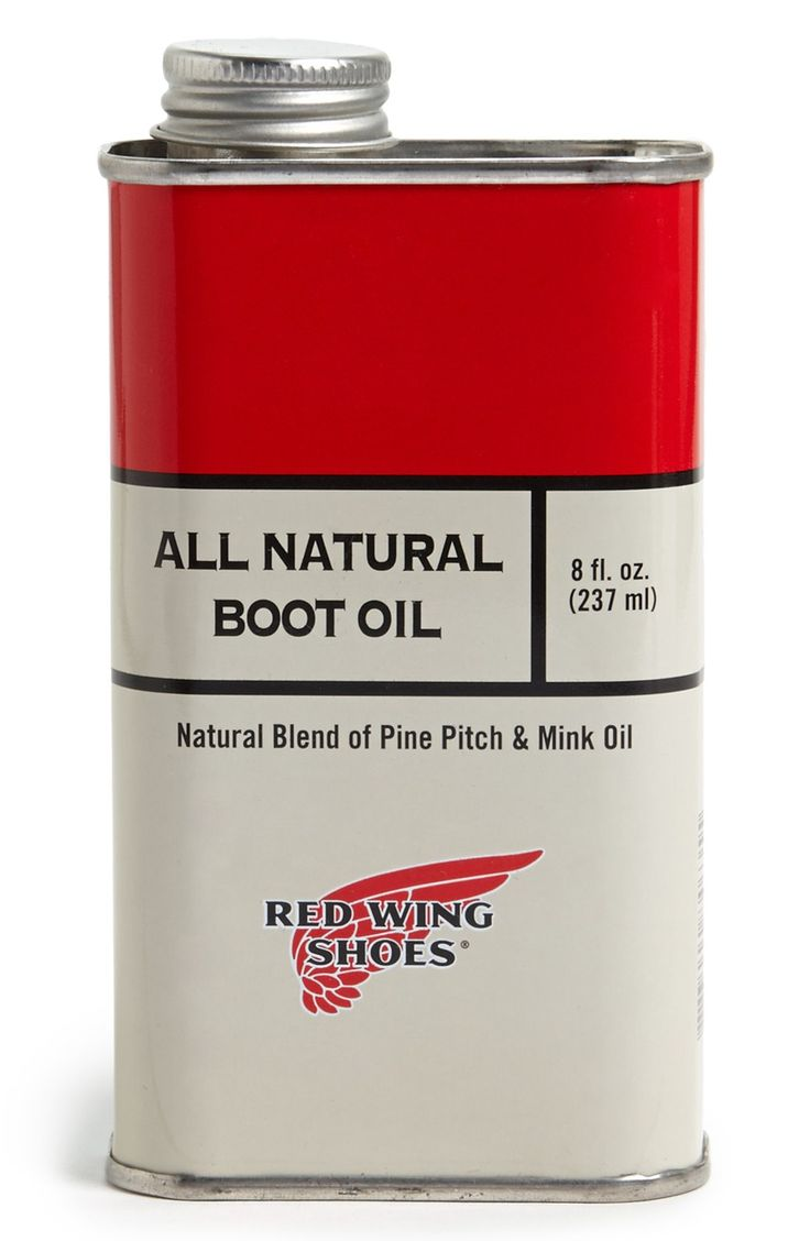 Natural Boot Oil For Iron Rangers