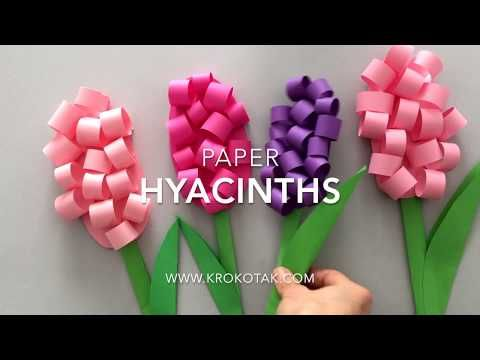Paper HYACINTHS - YouTube