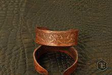 RMJ Tactical Angry Steve forged Copper Bracelet