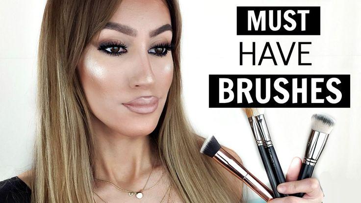 Βασικά Πινέλα Μακιγιάζ Οικονομικά και Ακριβά | Must Have Brushes | Sonia Th