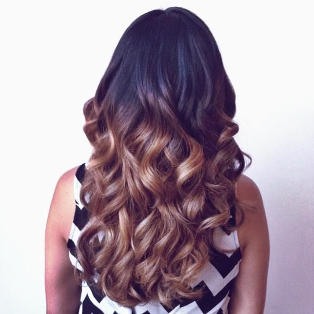 Beautiful Ombré Hair Style Different And Gorgeous!!! LOVE IT!!!