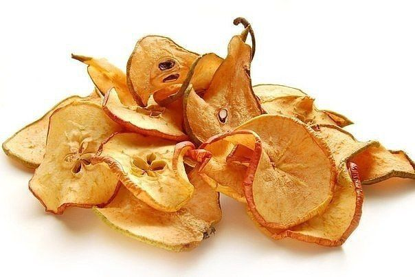 Про сушеные яблоки / Вкусные привычки