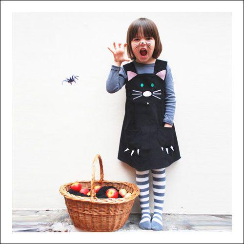 Wild Thing Dresses - Black Cat Dress