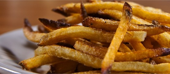 Fresh Cut French Fries at Lincoln Whiskey Kitchen... don't forget to ...