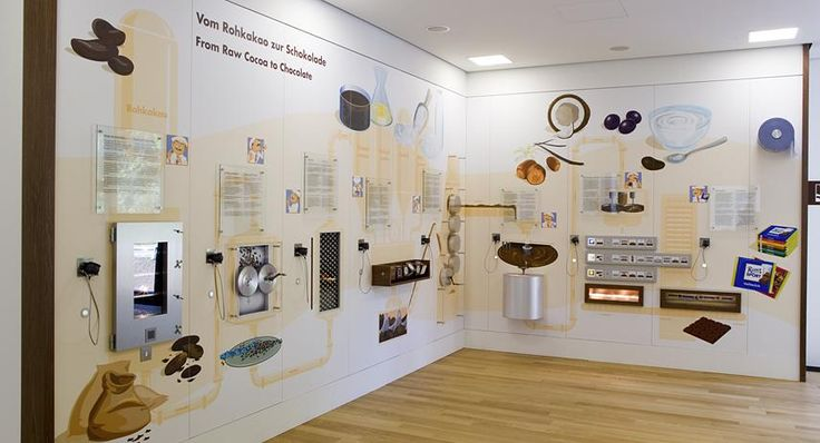 Exhibition Stand Interactive Ideas : Ritter sport totems communication architecture