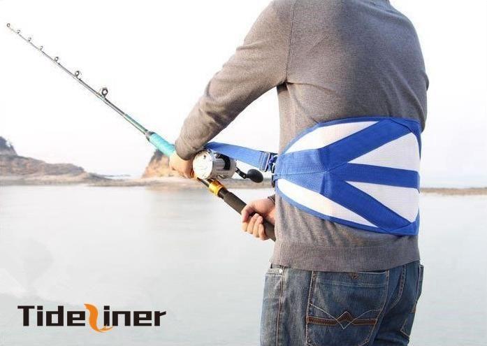 Boat Fishing Fighting Belt Rod Holder Adjust Harness Vest Fishing Tackles