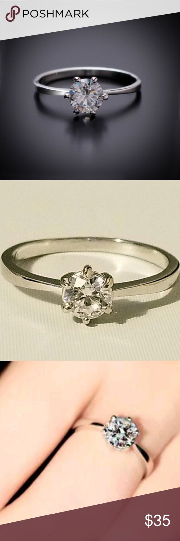 Solitaire Wedding Engagement Ring 8 Solitaire Wedding Engagement Ring 8 Aprilsplace Jewelry Rings #jewelryrings
