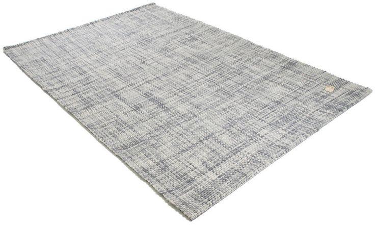 Style ljusgrå - Handtuftad matta