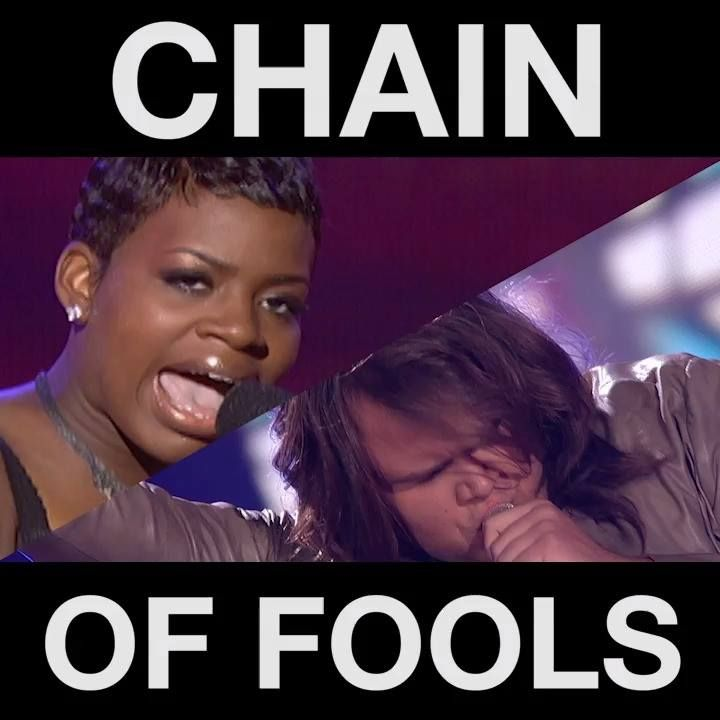 We have another #IdolChallenge for you! This time it's Fantasia vs Caleb Johnson singing 'Chain of Fools.' Who would have your vote?