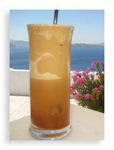 frappe - görög kávé különlegesség