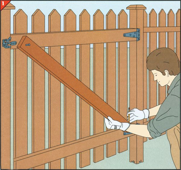 Wooden Fence Repair Solutions Diy Pinterest Wooden