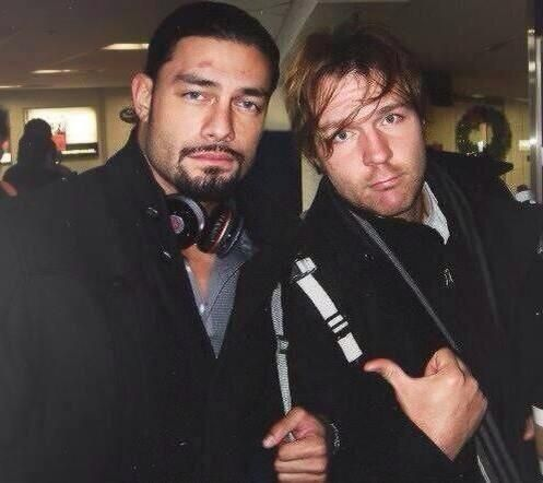 Roman Reigns and Dean Ambrose.