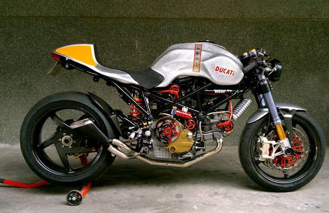 Ducati cafe Racer | monster S2R 1000 Cafe Racer | Motor Junkies