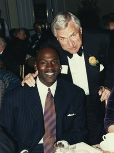 The Carolina Story, Dean Smith pictured with Michael Jordan.