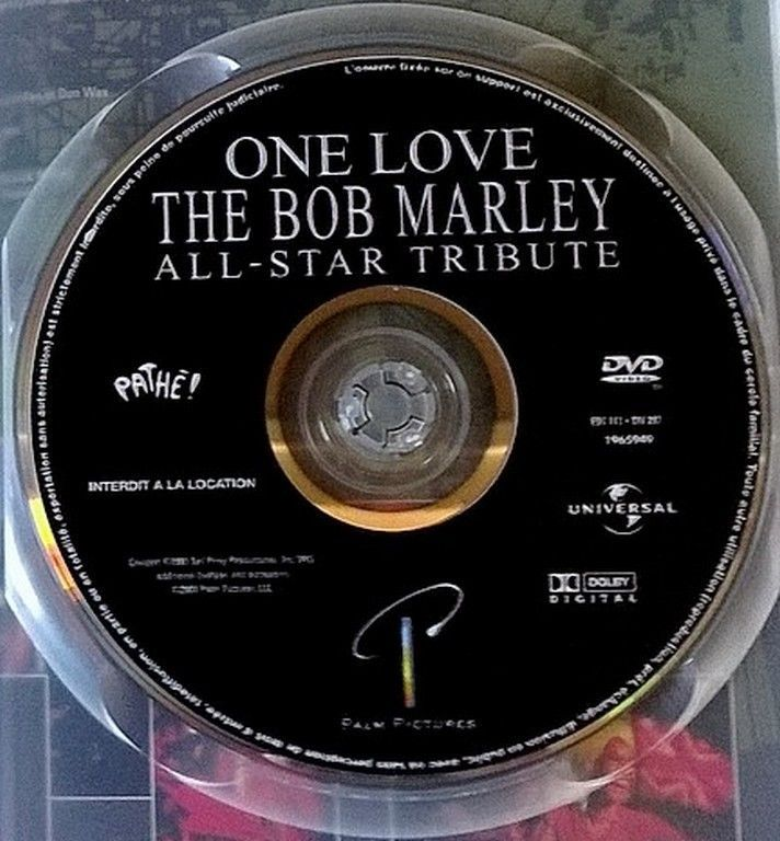 One Love - The BOB MARLEY ALL-STAR TRIBUTE - DVD LIVE Varius artist
