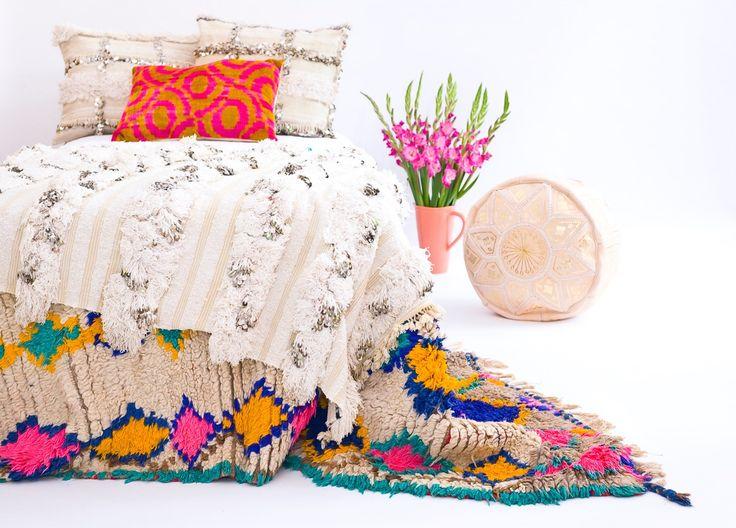 THE ROOMERY marokkanische Hochzeitsdecke alias Handira