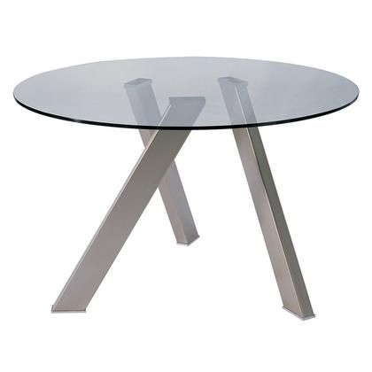 FIGLIO DINING TABLE ROUND SMOKE