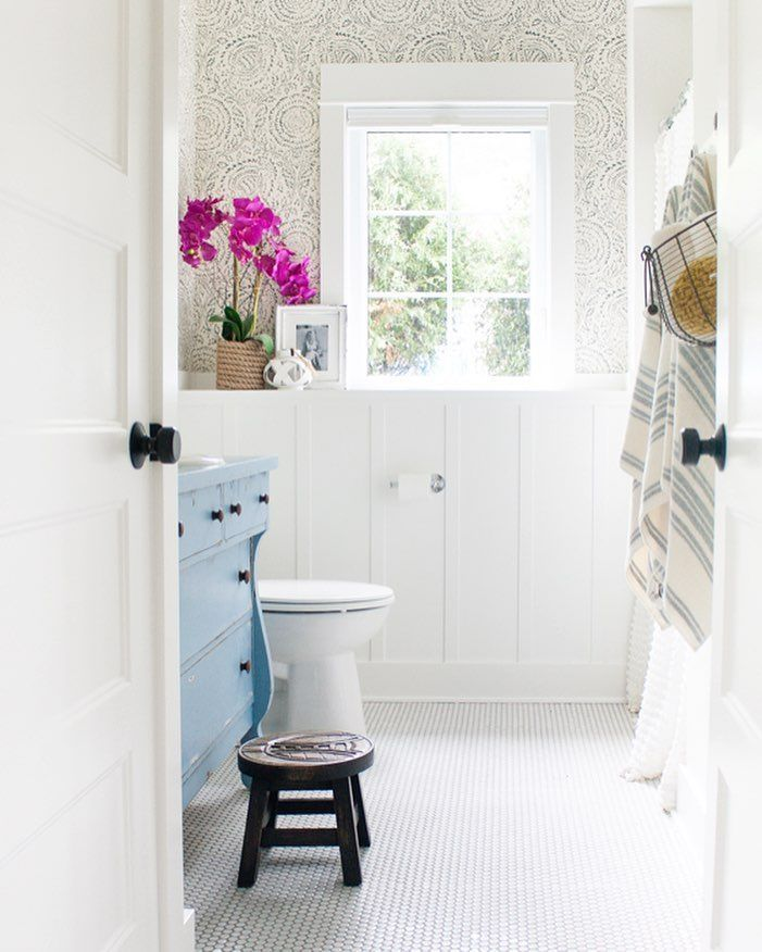 Coastal inspired bathroom
