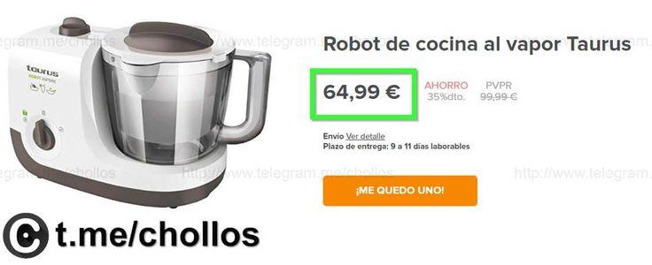 Robot cocina Taurus Vapore por 6499 - http://ift.tt/2jwyn0V