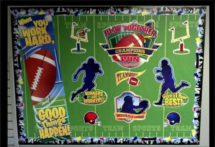 Sports Theme Bulletin Board Borders