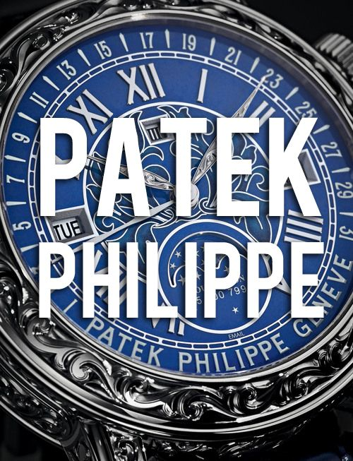 The #Master: Patek Philippe