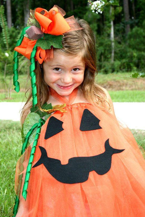 Disfraz calabaza ni a halloween beb tul creativity pinterest creative pumpkins and - Costume bebe halloween ...