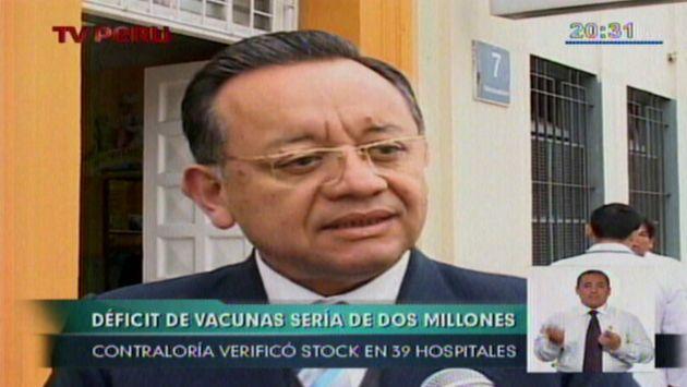 Contraloría: Solo se compraron 4 millones de vacunas para la gripe AH1N1