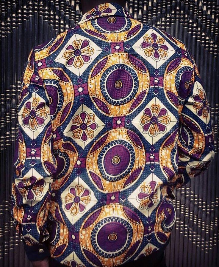 Viceroy Ankara Shirt (back) $120.00