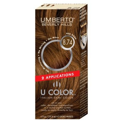 Umberto® Beverly Hills U Color Italian Demi Hair Color, Red Bark 12 online only