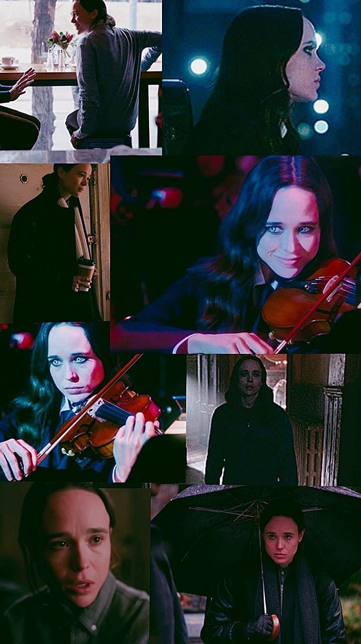 Vanya Hargreeves Number 7 The White Violin Umbrella Under My Umbrella Academy