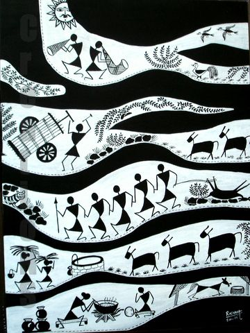 CreationS - The Essence of Arts: Warli - The Tribal art of India