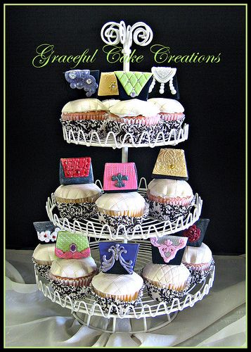 Designer Purses Cupcake Collection