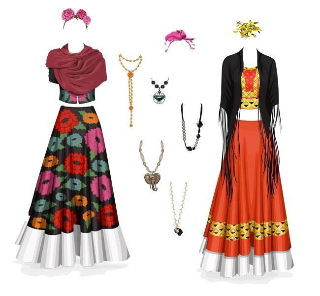 Frida's clothes