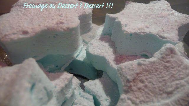 Fromage ou Dessert ? ... DESSERT !!!: Guimauve