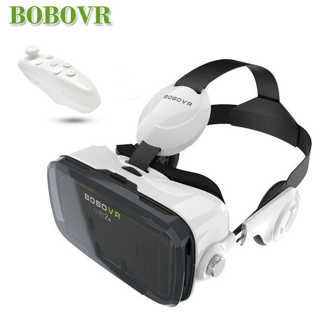 2017 Google cardboard VR BOX 2 XiaoZhai bobo vr z4 Virtual Reality 3D Glasses VR Headset earphone movie + Bluetooth Controller