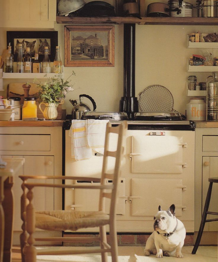english cottage interiors | English Cottages and a French Bulldog