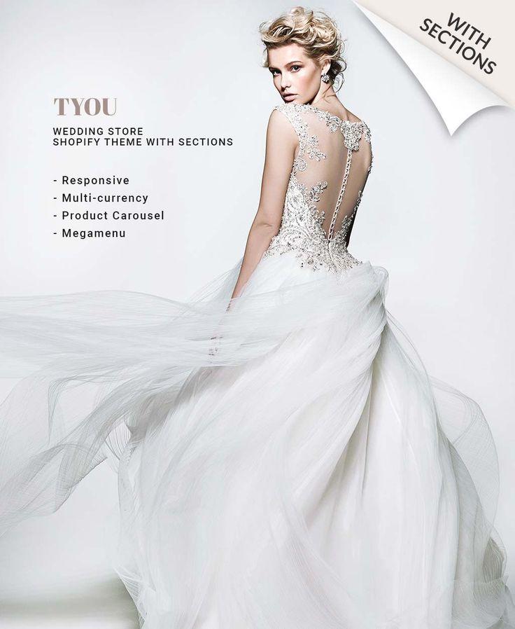 Wedding Shop Responsive Shopify Theme #63913