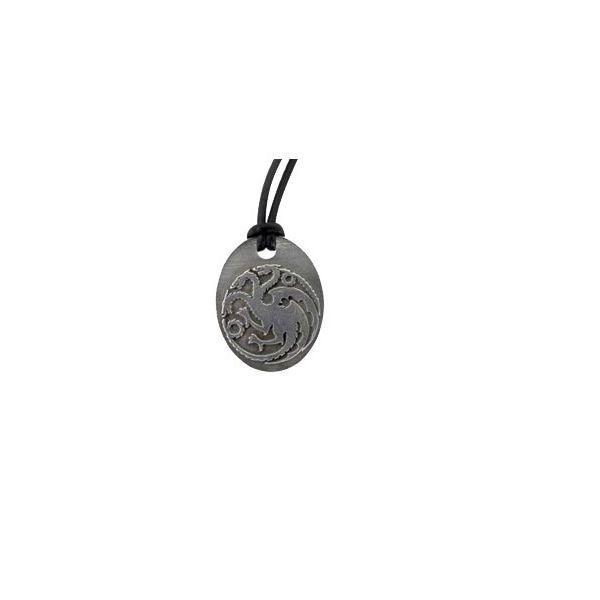 Game of Thrones Kette Anhänger Daenerys Targaryen (Bronze) fire and blood drache